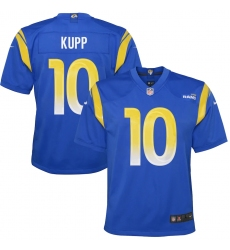 Youth Los Angeles Rams #10 Cooper Kupp Blue Nike Royal Game Jersey.webp