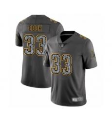 Men's Minnesota Vikings #33 Dalvin Cook Limited Gray Static Fashion Football Jersey