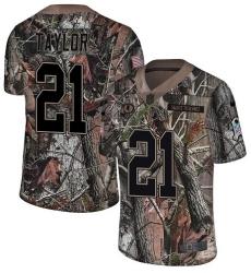 Men's Nike Washington Redskins #21 Sean Taylor Limited Camo Rush Realtree NFL Jersey