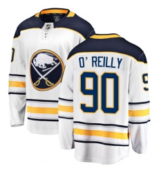 Men's Buffalo Sabres #90 Ryan O'Reilly Fanatics Branded White Away Breakaway NHL Jersey