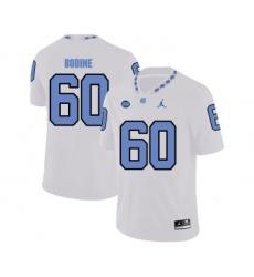 North Carolina Tar Heels 60 Russell Bodine White College Football Jersey