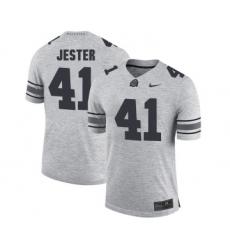 Ohio State Buckeyes 41 Hayden Jester Gary College Football Jersey