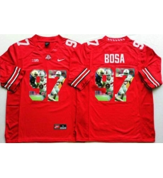 Ohio State Buckeyes #97 Joey Bosa Red Player Fashion Stitched NCAA Jersey