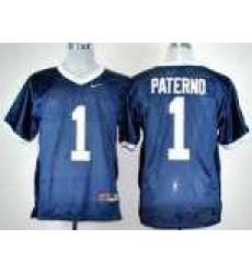 Penn State Natty Lions 1# Joe Paterno Navy Blue  College Football NCAA Jerseys