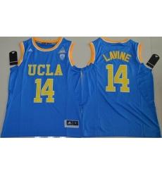 UCLA Bruins #14 Zach LaVine Blue Basketball Stitched NCAA Jersey
