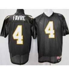 Southern Mississippi Gold Eagles #4 Brett Favre Black NCAA Jerseys