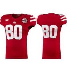 Nebraska Cornhuskers 80 Kenny Bell Red College Football NCAA Jerseys