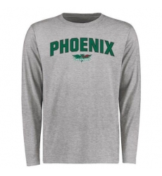Wisconsin-Green Bay Phoenix Proud Mascot Long Sleeves T-Shirt Ash