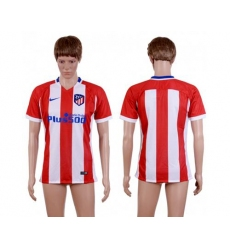 Atletico Madrid Blank Home Soccer Club Jersey1