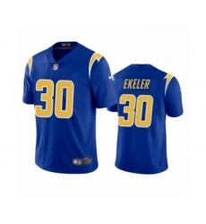 Los Angeles Chargers #30 Austin Ekeler Royal 2020 2nd Alternate Vapor Limited Jersey