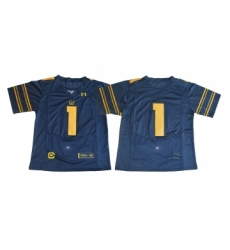 California Golden Bears 1 DeSean Jackson Navy College Football Jersey