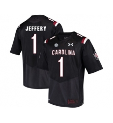 South Carolina Gamecocks 1 Alshon Jeffery Black College Football Jersey