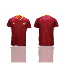 2018-19 Roma Home Thailand Soccer Jersey