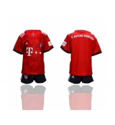 2018-19 Bayern Munich home Youth Soccer Jersey