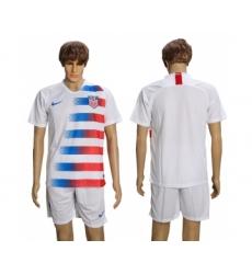 2018-19 USA Home Soccer Jersey