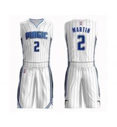 Men's Orlando Magic #2 Jarell Martin Swingman White Basketball Suit Jersey - Association Edition