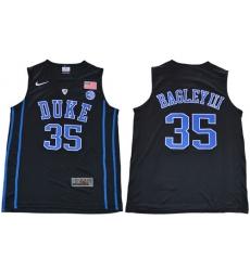 Duke Blue Devils #35 Marvin Bagley III Black Basketball Elite Stitched NCAA Jersey