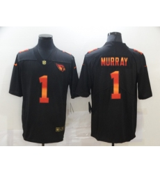Men's Arizona Cardinals #1 Kyler Murray Black colorful Nike Limited Jersey