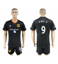 Hull City #9 ABEL H Away Soccer Club Jersey