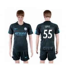 Manchester City #55 Diaz Sec Away Soccer Club Jersey