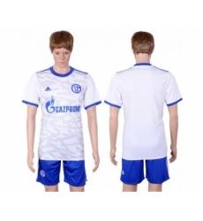 Schalke 04 Blank Away Soccer Club Jersey