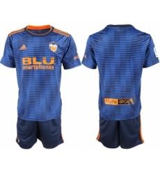 Valencia Blank Third Soccer Club Jersey