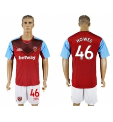 West Ham United #46 Howes Home Soccer Club Jersey