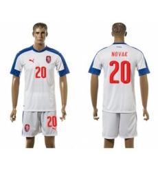 Czech #20 Novak Away Soccer Country Jersey