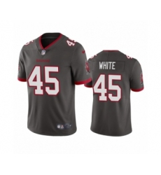 Tampa Bay Buccaneers #45 Devin White Pewter 2020 Vapor Limited Jersey