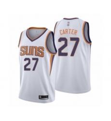 Men's Phoenix Suns #27 Jevon Carter Authentic White Basketball Jersey - Association Edition