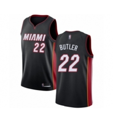 Women's Miami Heat #22 Jimmy Butler Swingman Black Basketball Jersey - Icon Edition