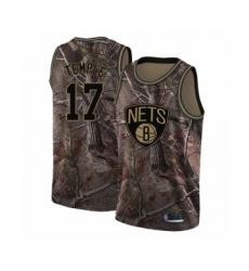 Men's Brooklyn Nets #17 Garrett Temple Swingman Camo Realtree Collection Basketball Jersey