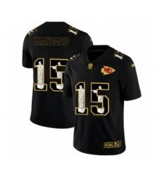 Men's Kansas City Chiefs #15 Patrick Mahomes Black Jesus Faith Limited Player Football Jersey