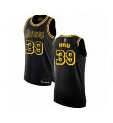 Women's Los Angeles Lakers #39 Dwight Howard Swingman Black Basketball Jersey - City Edition