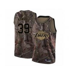 Women's Los Angeles Lakers #39 Dwight Howard Swingman Camo Realtree Collection Basketball Jersey