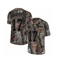 Youth San Francisco 49ers #17 Emmanuel Sanders Limited Camo Rush Realtree Football Jersey