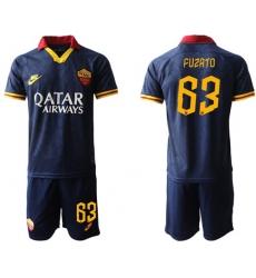 Roma #63 Fuzato Third Soccer Club Jersey
