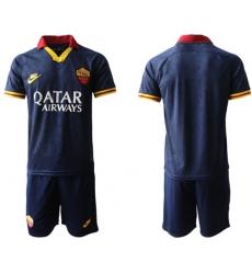 Roma Blank Third Soccer Club Jersey