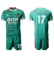 Wolves #17 Gibbs-White Third Soccer Club Jersey