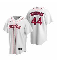 Men's Nike Boston Red Sox #44 Brandon Workman White Alternate Stitched Baseball Jersey