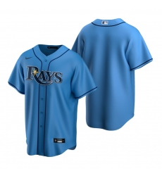 Men's Nike Tampa Bay Rays Blank Light Blue Alternate Stitched Baseball Jersey