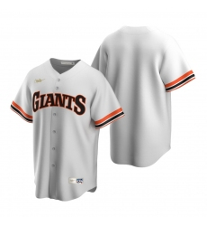 Men's Nike San Francisco Giants Blank White Cooperstown Collection Home Stitched Baseball Jersey