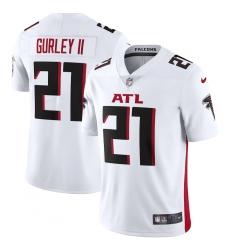 Men's Atlanta Falcons #21 Todd Gurley II Nike White Vapor Limited Jersey.webp