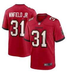 Men's Tampa Bay Buccaneers #31 Antoine Winfield Jr. Nike Red 2020 NFL Draft Pick Game Jersey
