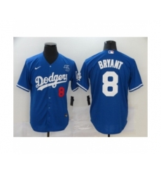 Los Angeles Dodgers #8 Kobe Bryant Royal Jersey