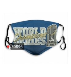 MLB Los Angeles Dodgers Mask-0024