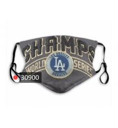 MLB Los Angeles Dodgers Mask-0028