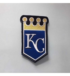 Stitched MLB Kansas City Royals Team Logo Jersey Sleeve Patch