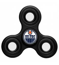 NHL Edmonton Oilers 3 Way Fidget Spinner C115 - Black