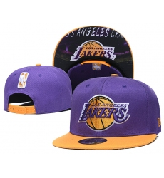 Los Angeles Lakers Hats-004